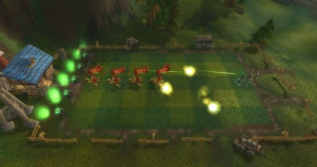 Проходим квест Plants vs. Zombies в wow cataclysm